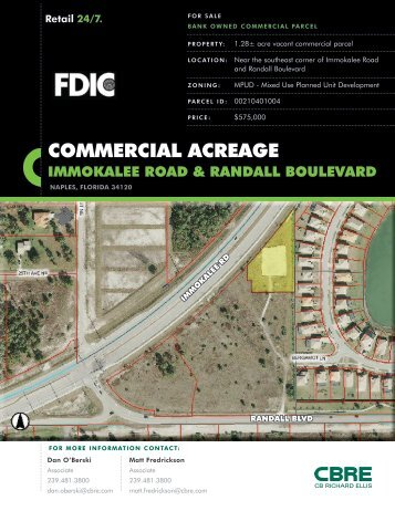 COMMERCIAL ACREAGE - Naples Daily News