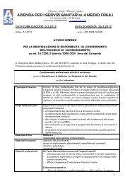 avviso coordinamento - Medio Friuli