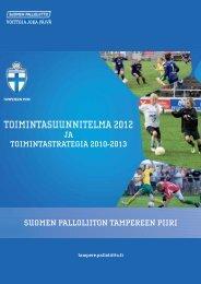 toimintasuunnitelma ja toimintastrategia - Suomen Palloliitto