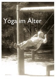 Yoga im Alter - VIVEKA - Hefte für Yoga
