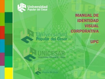 manual de identidad visual corporativa upc - Universidad Popular ...