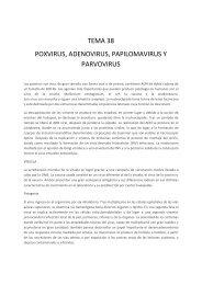 Poxvirus, Adenovirus, Papilomavirus y otros virus DNA. - micromadrid