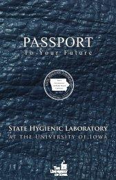 Passport Brochure - State Hygienic Laboratory - University of Iowa