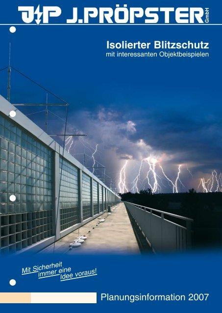 Isolierter Blitzschutz - Proepster.