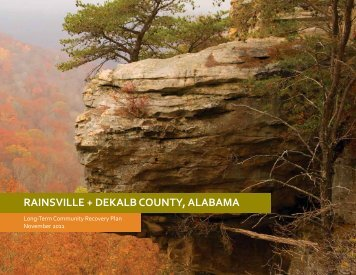 RAINSVILLE + DEKALB COUNTY, ALABAMA - ADECA