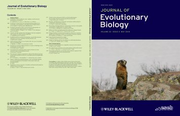 vigilance - UCLA Department of Ecology and Evolutionary Biology