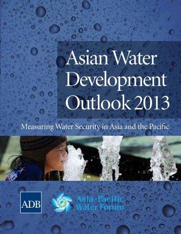 Asian Water Development Outlook 2013 - DSpace at Khazar ...