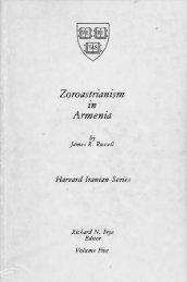 Zoroastrianism Armenia