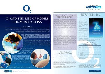 O2 AND THE RISE OF MOBILE COMMUNICATIONS - Business 2000