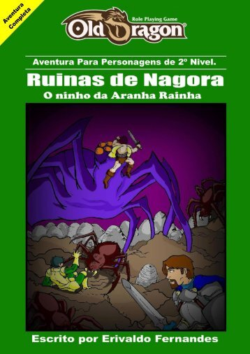 Old Dragon – Ruínas de Nagora - Vila do RPG