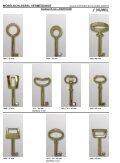 6 möbelschlüssel brüniert - Aachener Sicherheitshaus Rennert - Seite 4