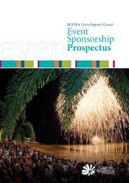 Event Sponsorship Prospectus - Cairns Regional Council