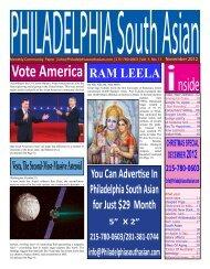 NOV ' 2012 - Philadelphia South Asian