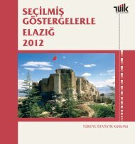 seç gös ela 2011 seçilmiş göstergelerle elazığ 2011