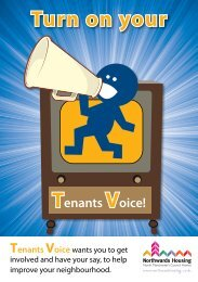 Tenants Voice leaflet - Northwards Housing