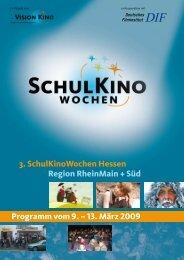 Filmprogramm der Spielwoche 1 - Medienzentrum Frankenberg