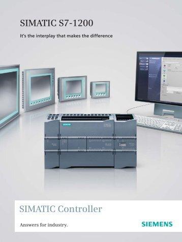 SIMATIC Controller SIMATIC S7-1200 - Siemens