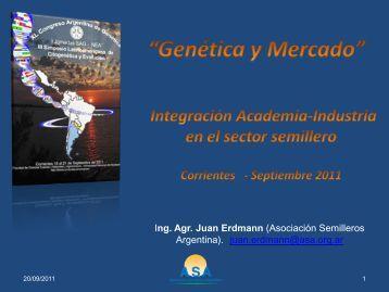 + descargar - Sociedad Argentina de Genética