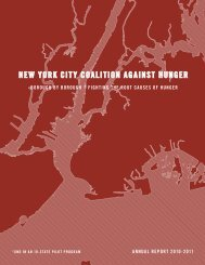 Download the 2010-2011 Annual Report - New York City Coalition ...