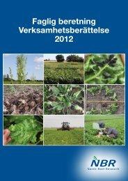 NBR årsberetning 2012 - nordicbeet.nu