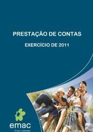 Relatório e Contas 2011 - Câmara Municipal de Cascais