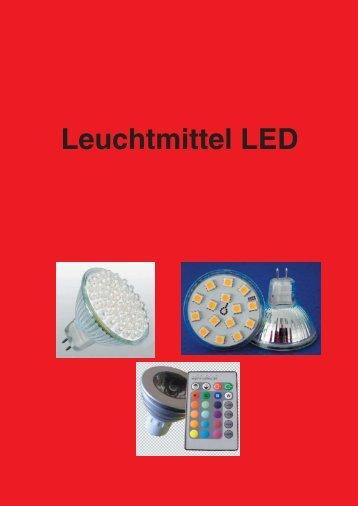 LED Leuchtmittel 60x5mm GU10 rot - profitechnik.