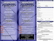 youth day camp - Indiana State University Athletics
