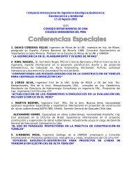 CONFERENCIAS Simposio Internacional