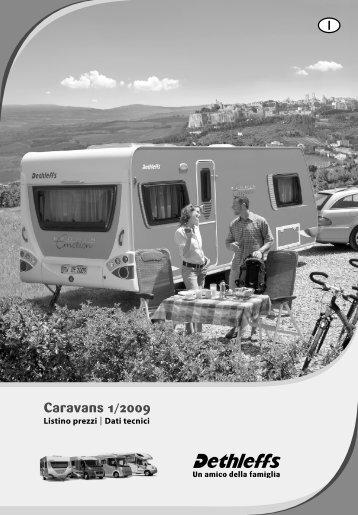Listino prezzi Caravans 2009 - Dethleffs