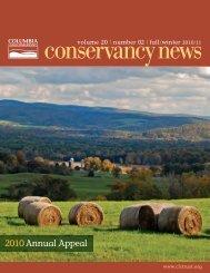 Winter 2010/2011 - Columbia Land Conservancy