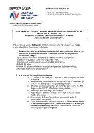 AGÈNCIA VALENCIANA DE SALUT - Agencia Valenciana de Salud