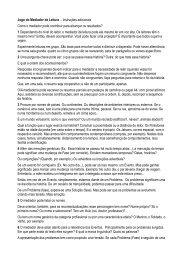 Jogo do Mediador de Leitura – Instruções adicionais Como o ... - EBC