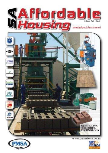 SAHousing Infrastructure & Development - Trademax Publications