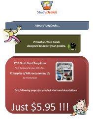 StudyDecks! - Textbook Media