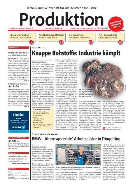 Ausgabe - 08 - 2011 - Produktion.de