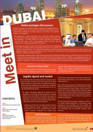 Meet dubai issue4 - Dubai Convention And Events Bureau