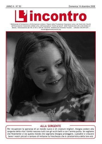 14 dicembre 2008 - Il Centro don Vecchi