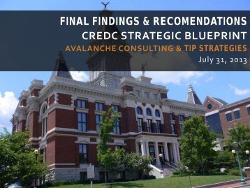 final findings & recomendations credc strategic blueprint - Clarksville ...