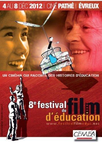 Programmation en format PDF - Festival du film d´éducation