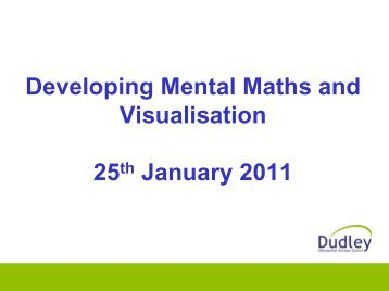 Powerpoint (PDF) - Dudley Virtual Resource Centre