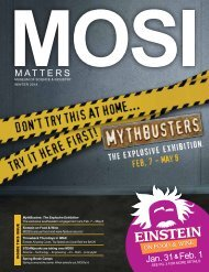 MOSI Matters - Museum of Science and Industry