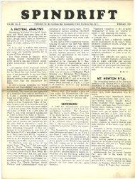 spindrift feb 1950 - Cordova Bay Association for Community Affairs