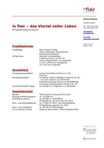 le flair – das Viertel voller Leben - Düsseldorf Realestate