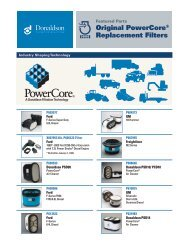 Featured Parts - Original PowerCore® Replacement Filters ...
