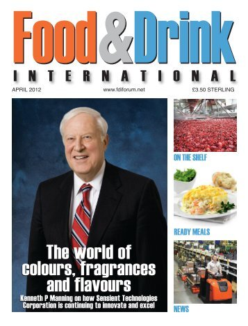 The world of colours, fragrances and flavours The ... - Dine Here US