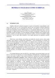 BOMBAS UTILIZADAS COMO TURBINAS - CEDECAP
