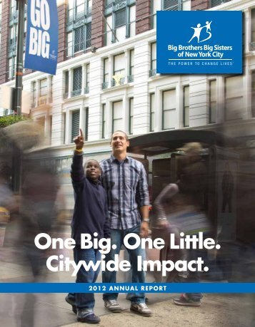 Download a PDF - Big Brothers Big Sisters of New York City
