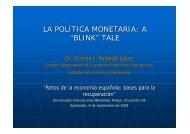 El papel de la política fiscal en la situación económica actual