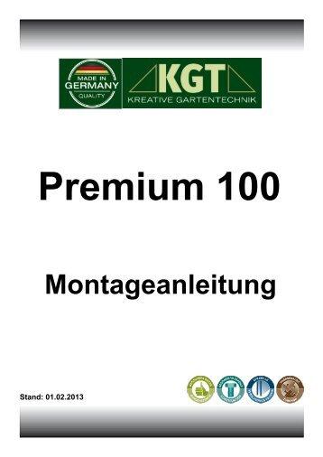 Montageanleitung Premium 100 - KGT