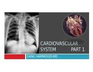 Cardio lecture - Sinoe medical homepage.